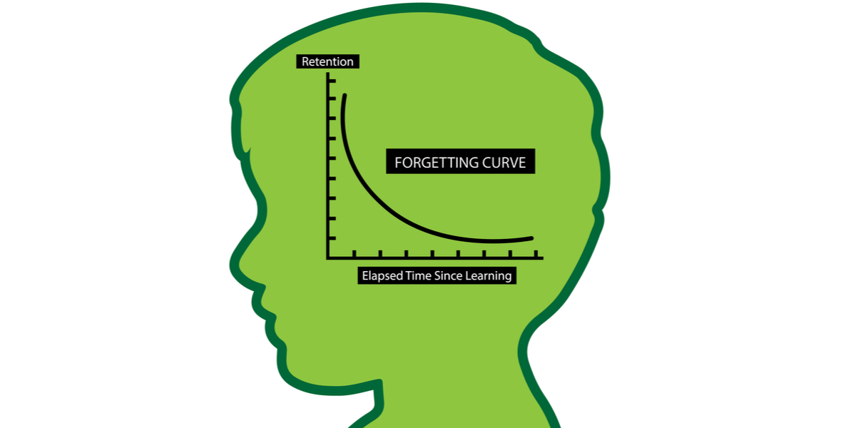 forgetting curve learning language